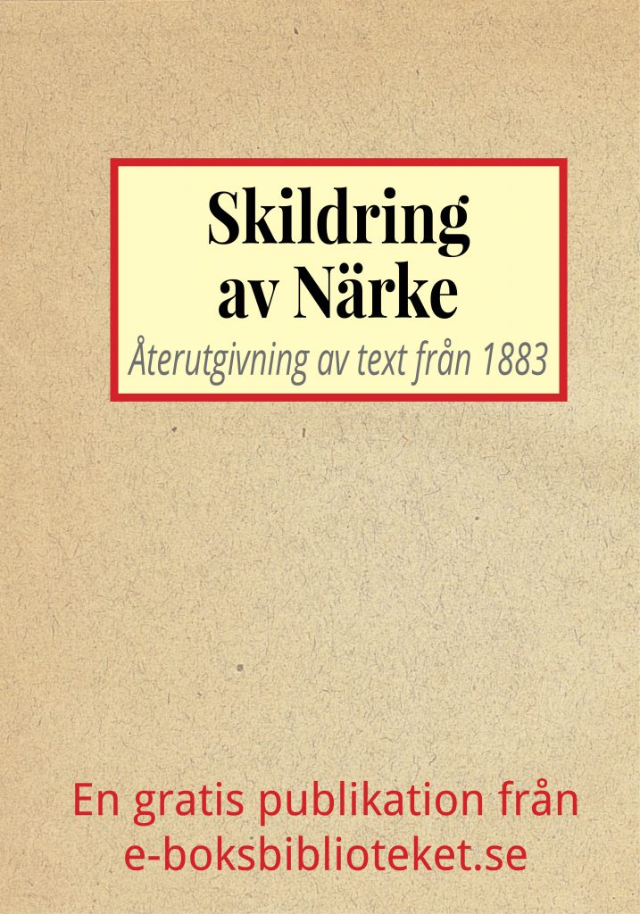 Book Cover: Skildring av Närke
