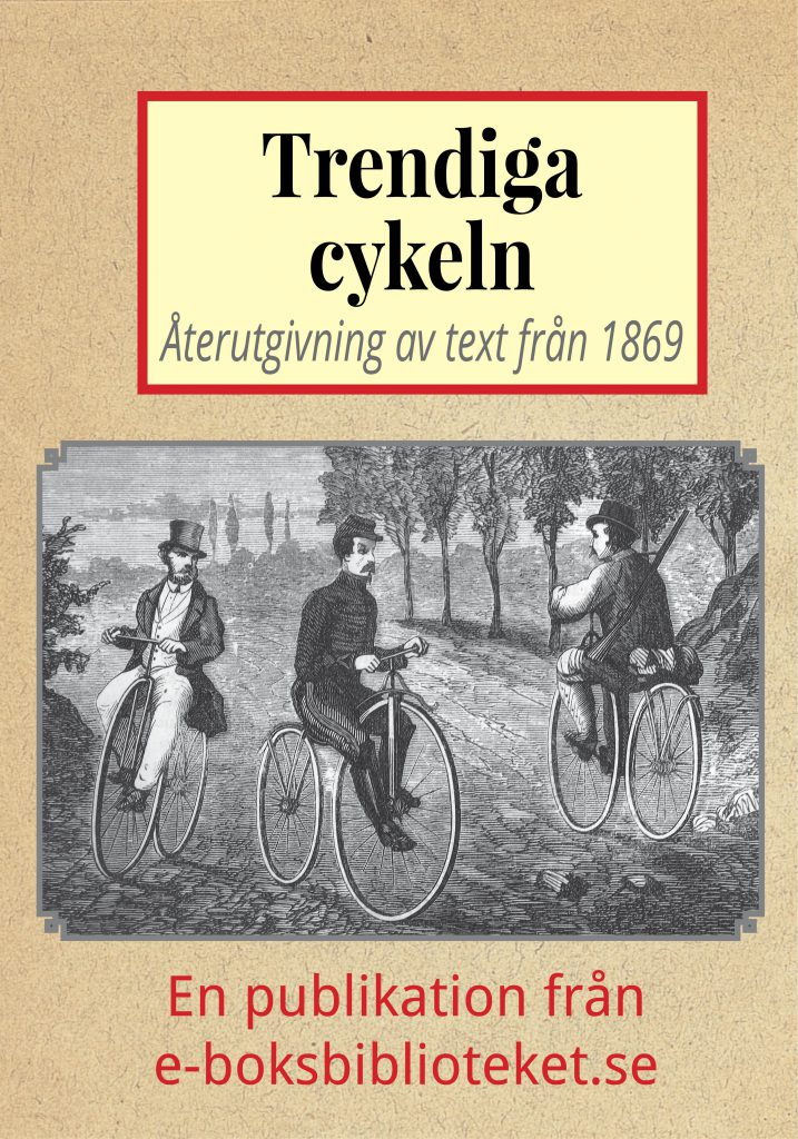 Book Cover: Trendiga cykeln