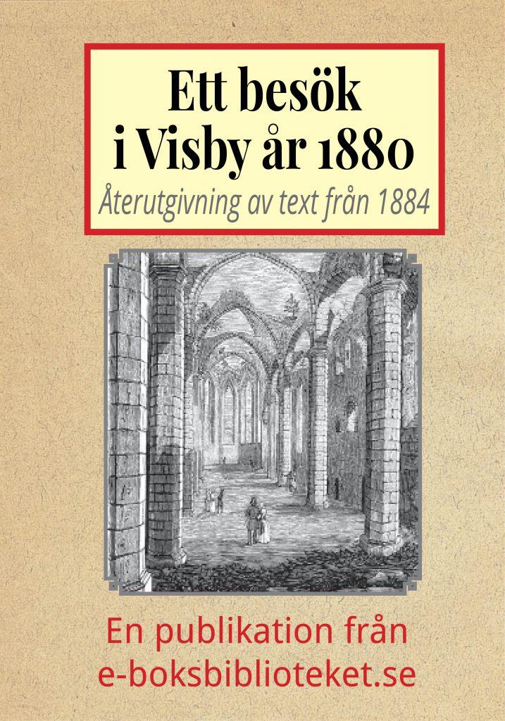 Book Cover: Ett besök i Visby år 1880