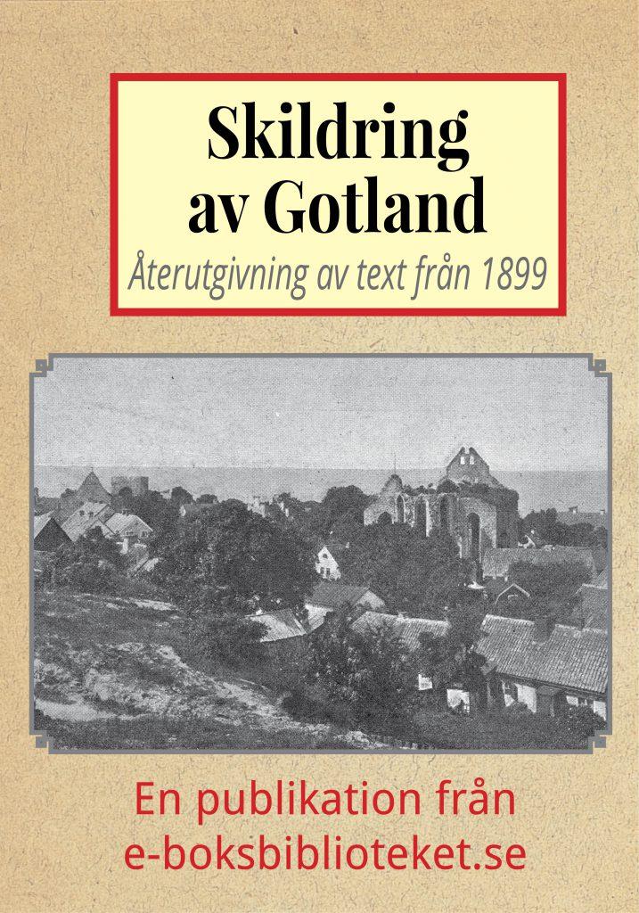 Book Cover: Skildring av Gotland
