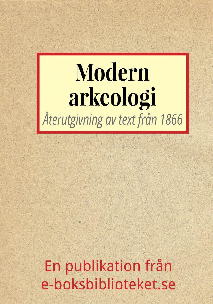 Book Cover: Modern arkeologi