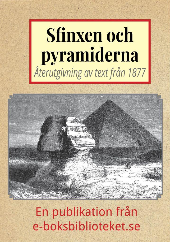 Book Cover: Sfinxen och pyramiderna