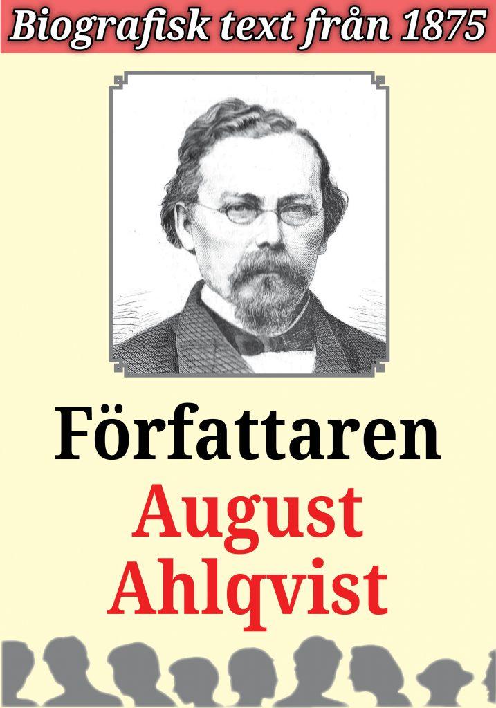 Book Cover: Biografi: August Engelbrekt Ahlqvist