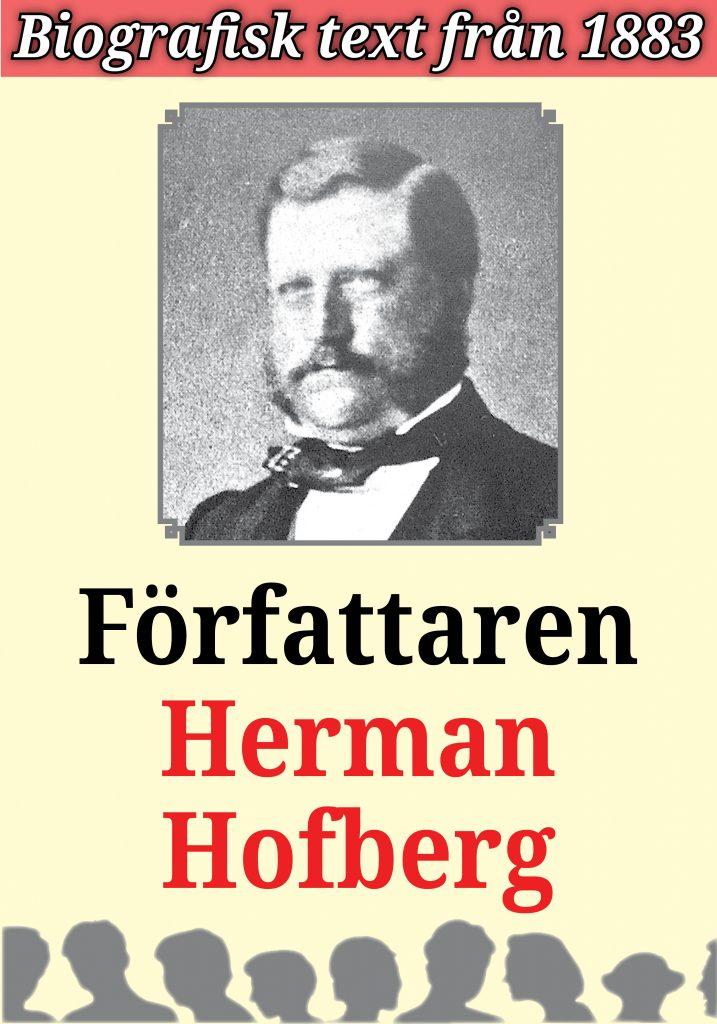 Book Cover: Biografi: Författaren Herman Hofberg