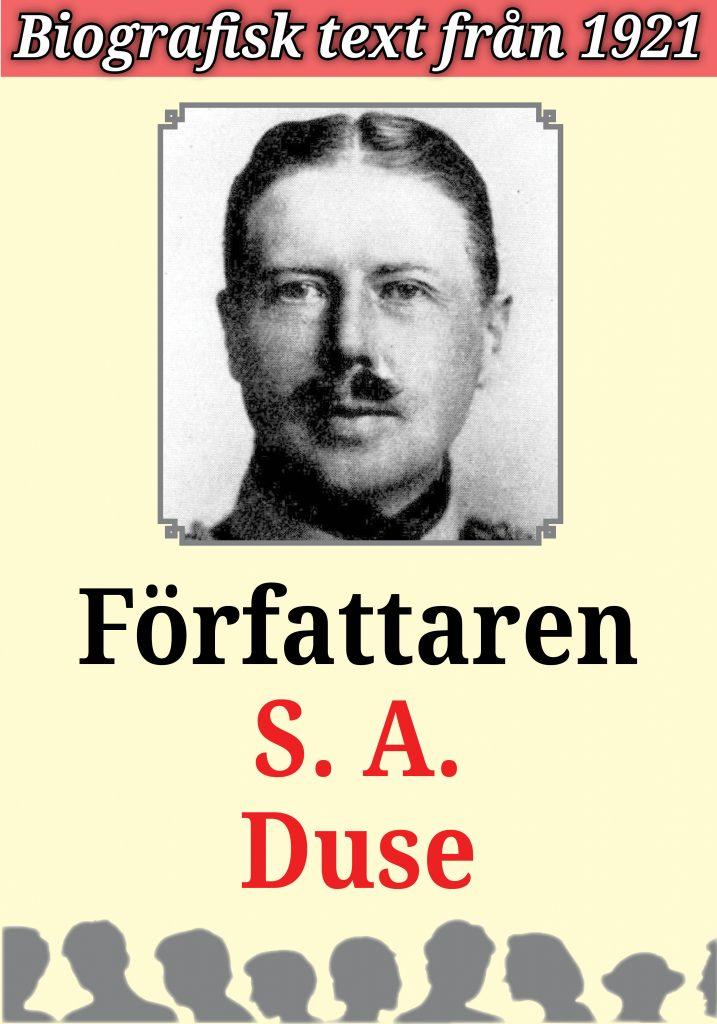 Book Cover: Biografi: Författaren S. A. Duse