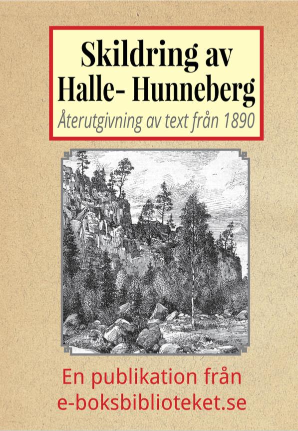 Book Cover: Skildring av Halle- och Hunneberg år 1890