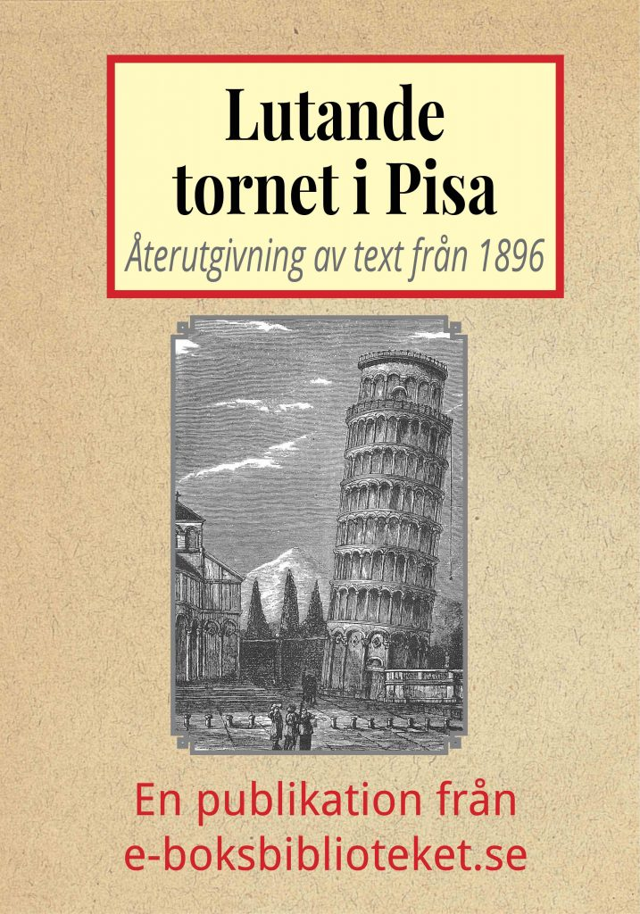 Book Cover: Lutande tornet i Pisa