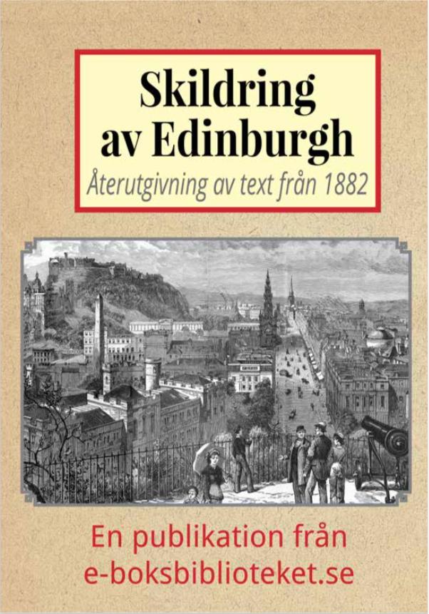 Book Cover: Skildring av Edinburgh