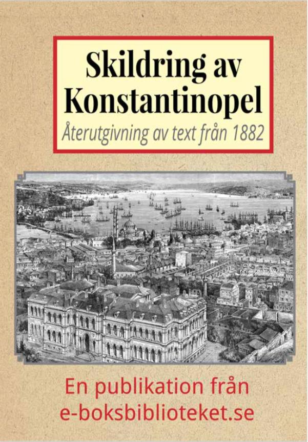 Book Cover: Skildring av Konstantinopel