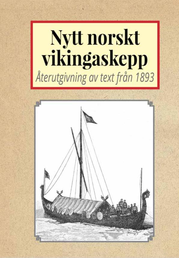 Book Cover: Det nya norska vikingaskeppet