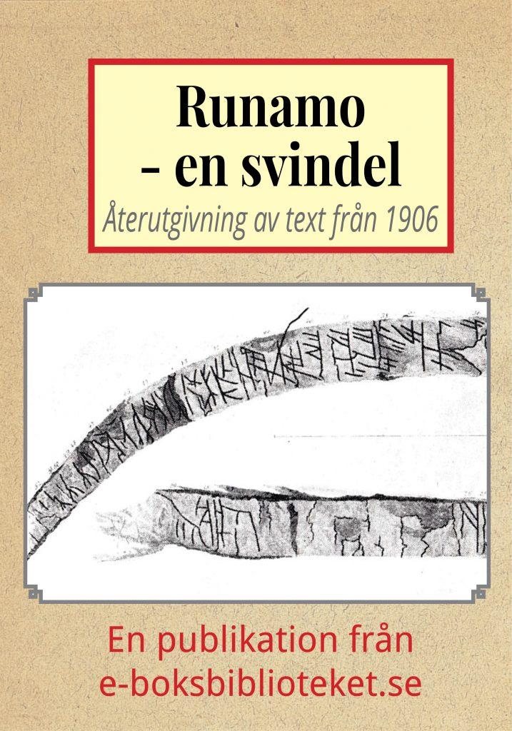 Book Cover: Runamo – en vetenskaplig svindel