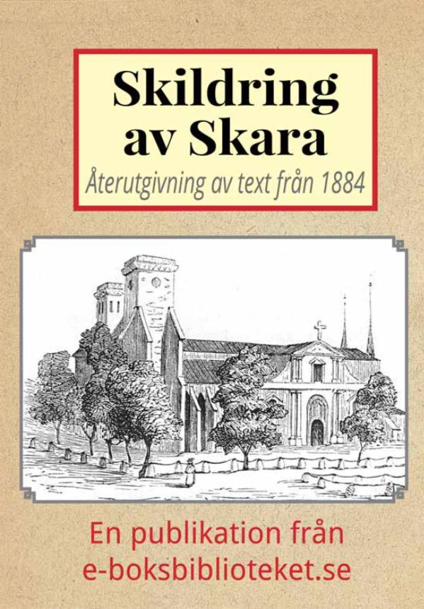 Book Cover: Skildring av Skara år 1884