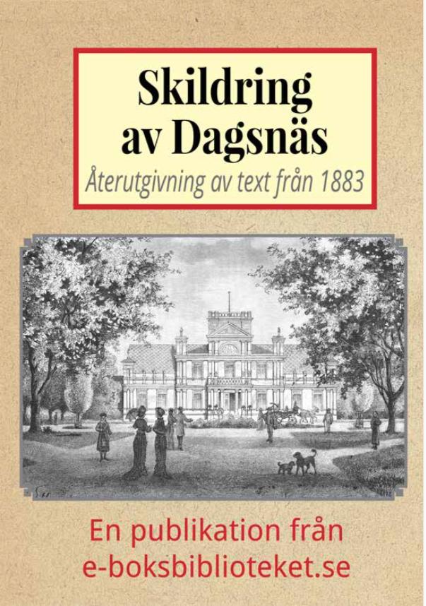 Book Cover: Skildring av Dagsnäs