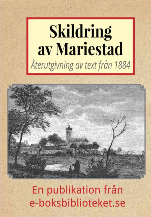 Book Cover: Skildring av Mariestad