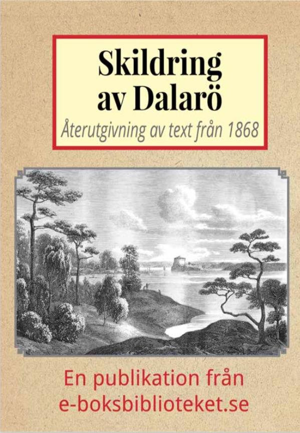 Book Cover: Skildring av Dalarö