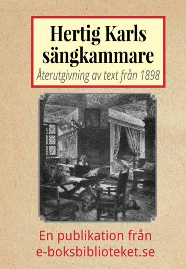Book Cover: Hertig Karls sängkammare på Gripsholms slott