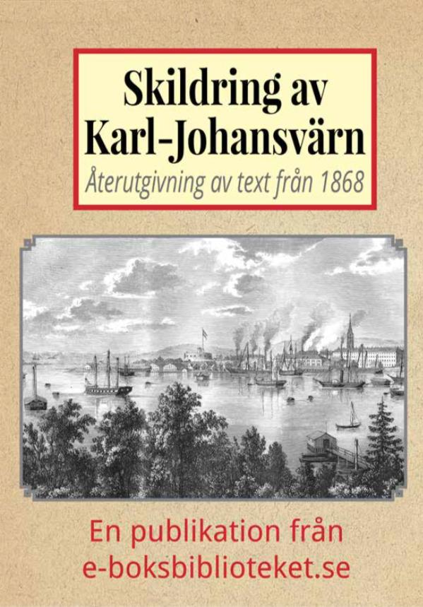 Book Cover: Skildring av Karljohansvärn