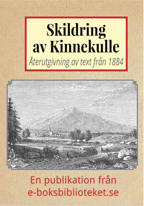 Book Cover: Skildring av Kinnekulle
