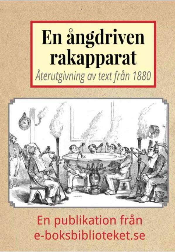 Book Cover: En galen ångdriven rakapparat