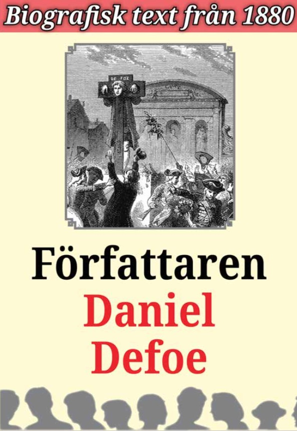 Book Cover: Biografi: Författaren Daniel Defoe
