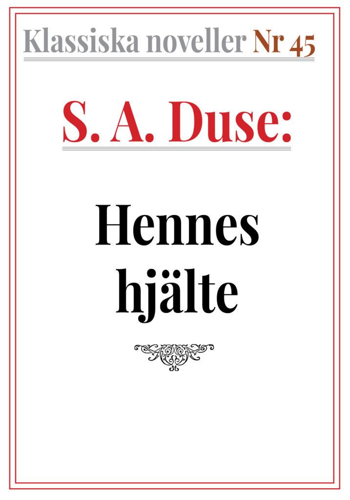 Book Cover: S. A. Duse – Hennes hjälte