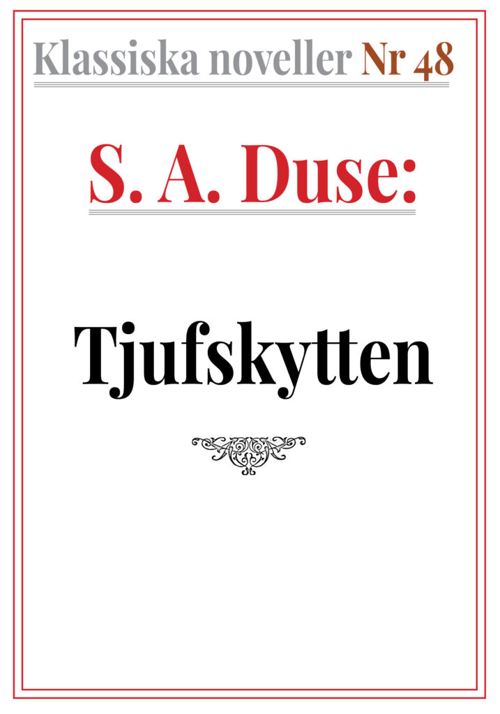 Book Cover: Tjufskytten